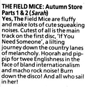 Field Mice Press Autumn